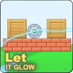 Physics-based Puzzle Game: Let It Glow